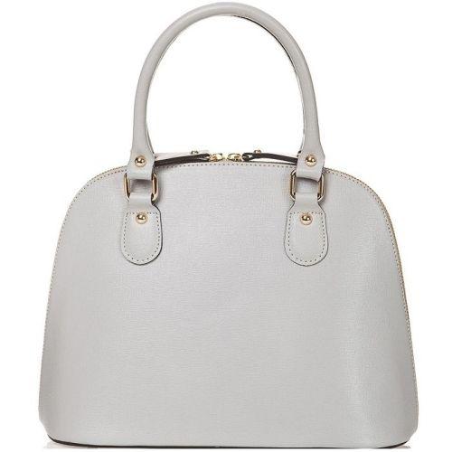 Женская кожаная сумка BC119 серая