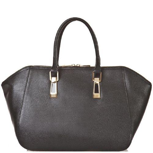 Женская кожаная сумка BC128 черная