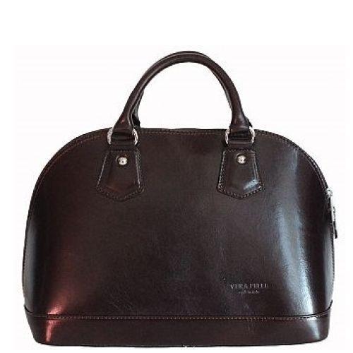 Женская кожаная сумка BC130 черная