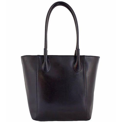Женская кожаная сумка BC202 черная