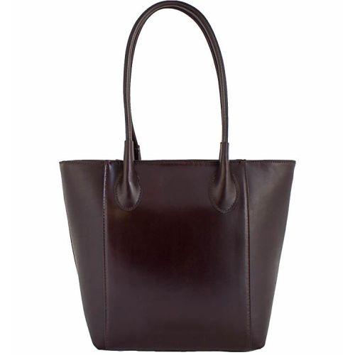 Женская кожаная сумка BC202 шоколадная