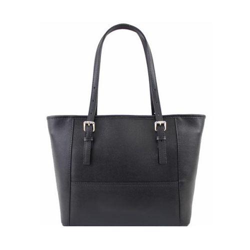 Женская кожаная сумка BC205 черная