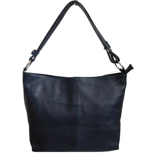 Женская кожаная сумка BC214 синяя