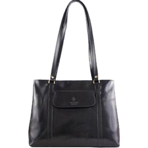 Женская кожаная сумка BC224 черная