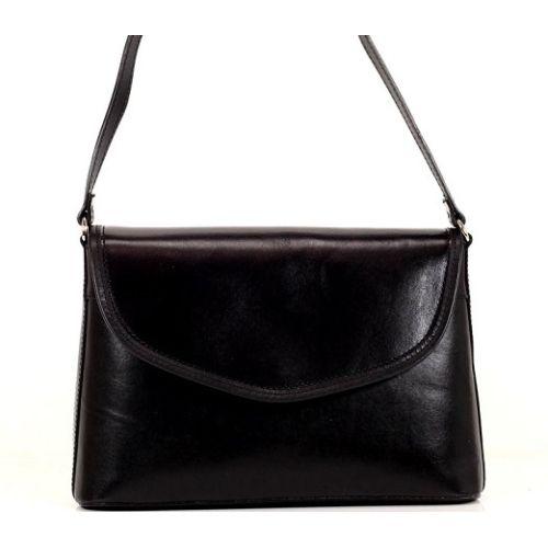 Женская кожаная сумка BC301 черная