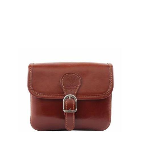 Женская кожаная сумочка BC302 коричневая