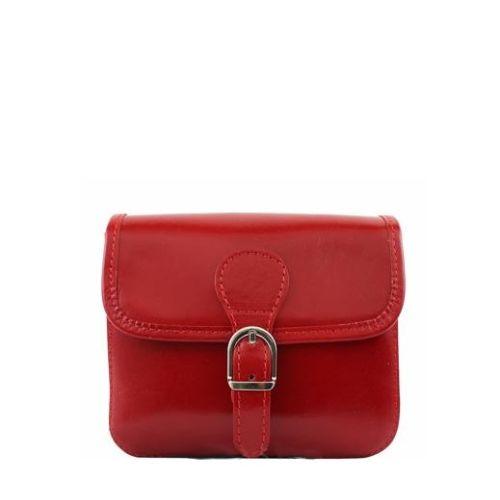 Женская кожаная сумочка BC302 красная