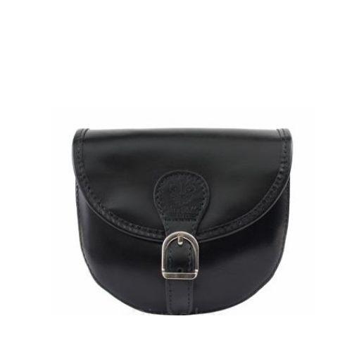 Женская кожаная сумочка BC303 черная
