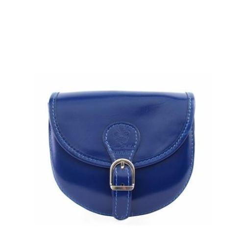 Женская кожаная сумочка BC303 синяя