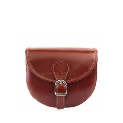 Женская кожаная сумочка BC303 коричневая