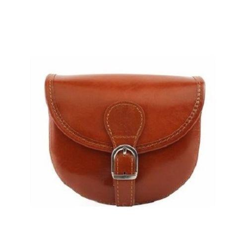 Женская кожаная сумочка BC303 рыжая
