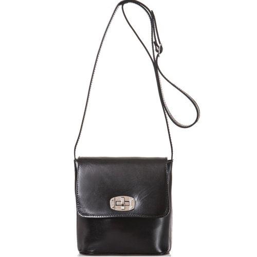 Женская кожаная сумка BC306 черная