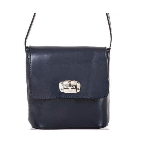 Женская кожаная сумка BC306 синяя