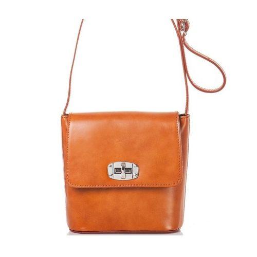 Женская кожаная сумка BC306 рыжая
