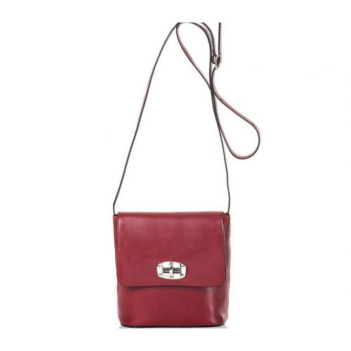 Женская кожаная сумка BC306 красная