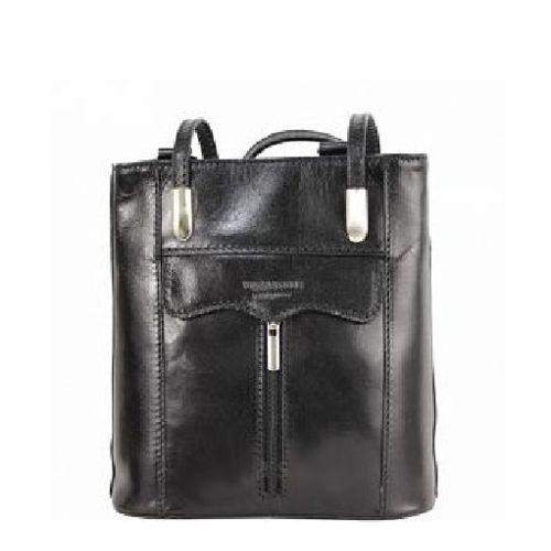 Женская кожаная сумка BC317 черная