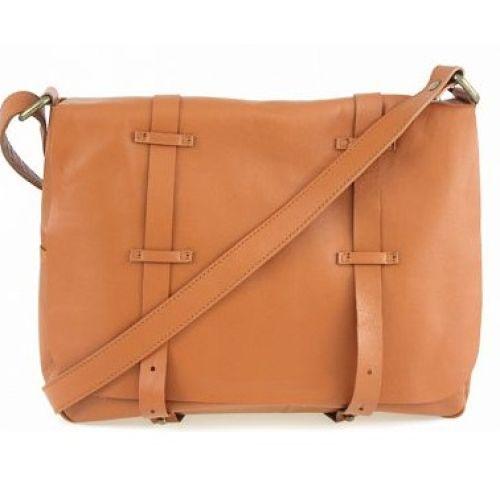 Женская кожаная сумка BC321 рыжая