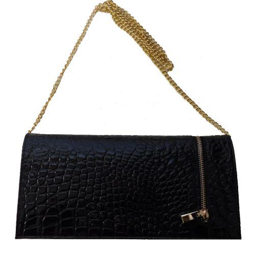 Женская кожаная сумка BC508 черная