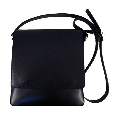 Мужская кожаная сумка BC610 черная