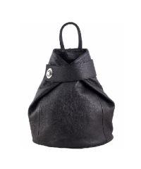 Кожаный рюкзак BC709 черный