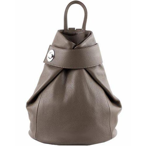 Кожаный рюкзак BC709 бежевый