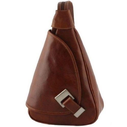 Кожаный рюкзак BC710 коричневый