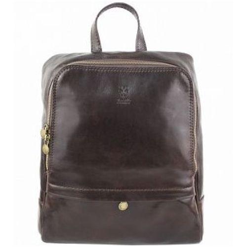 Кожаный рюкзак BC711 шоколадный