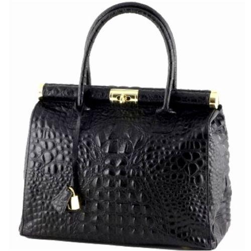 Женская кожаная сумка BC901 черная