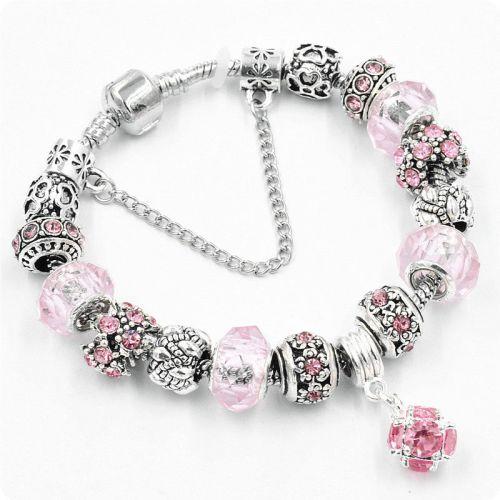 Браслет Pandora Shine розовый