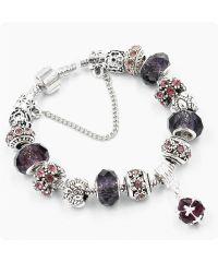 Браслет Pandora Shine фиолетовый