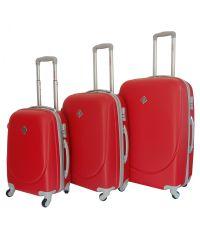 Набор чемоданов Bonro Smile красный (110025)