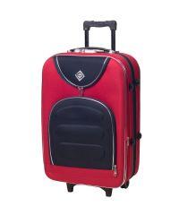 Чемодан Bonro Lux большой красный-темно синий (110199)