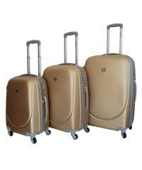 Набор чемоданов Bonro Smile шампан (110041)