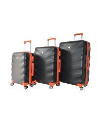 Набор чемоданов Bonro Next 3 штуки черный (110290)