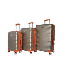 Набор чемоданов Bonro Next 3 штуки шампан (110292)