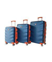 Набор чемоданов Bonro Next 3 штуки синий (110291)