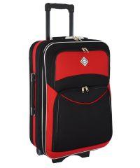 Чемодан Bonro Style средний черно-красный (102479)