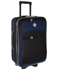 Чемодан Bonro Style средний черно-темно синий (110121)