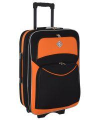 Чемодан Bonro Style средний черно-оранжевый (102482)
