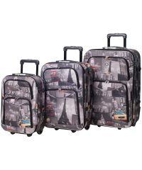 Набор чемоданов Bonro Best City (110205)