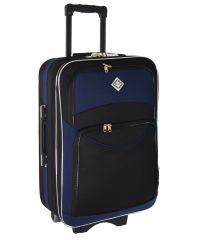 Чемодан Bonro Style большой черно-темно синий (110127)