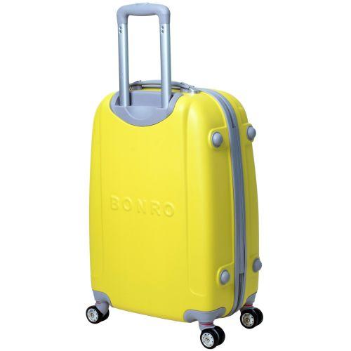 Чемодан Bonro Smile большой с двойными колесами желтый (110098) купить в  Киеве недорого   Интернет-магазин FashionTrends 31116025a17