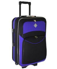 Чемодан Bonro Style маленький черно-фиолетовый (102472)