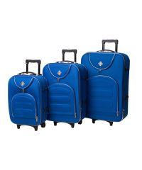 Набор чемоданов Bonro Lux 3 штуки sky blue (102402)
