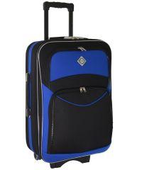 Чемодан Bonro Style средний черно-синий (102478)