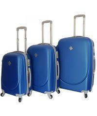 Набор чемоданов Bonro Smile синий (110023)