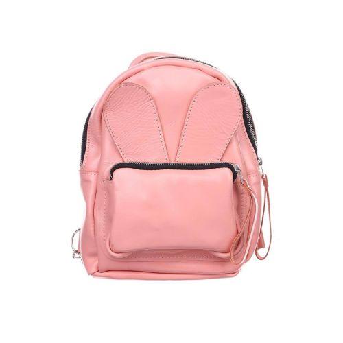 Рюкзак кожаный DEKEY 2.0 Зайка пудра
