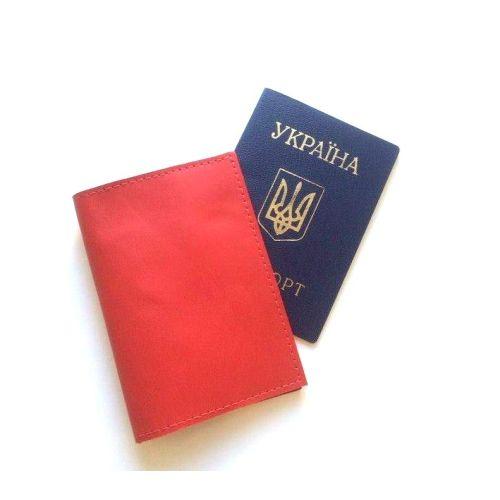 Обложка на паспорт DEKEY 1.0 красная