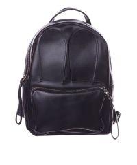 Рюкзак кожаный DEKEY 2.0 Зайка черный
