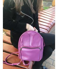 Рюкзак кожаный DEKEY 2.0 Зайка фуксия